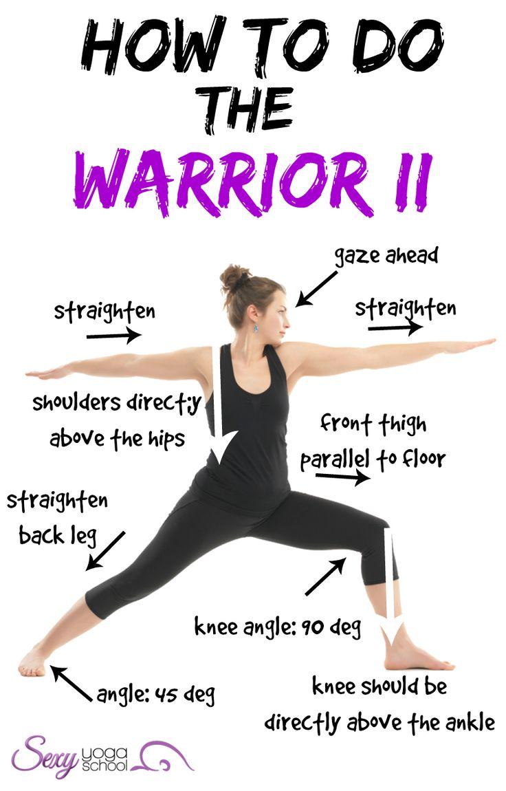 5 beginner yoga poses – Kayla's Five Things  Warrior 2 Pose