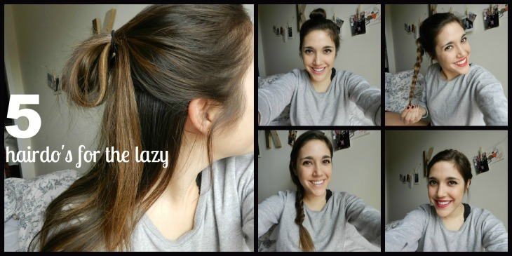 5 hairdo's for the lazy
