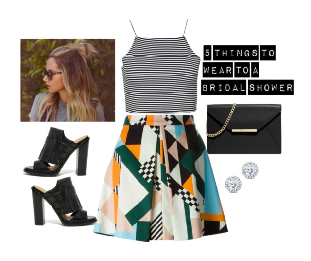 5 things to wear to a bridal shower kaylas five things